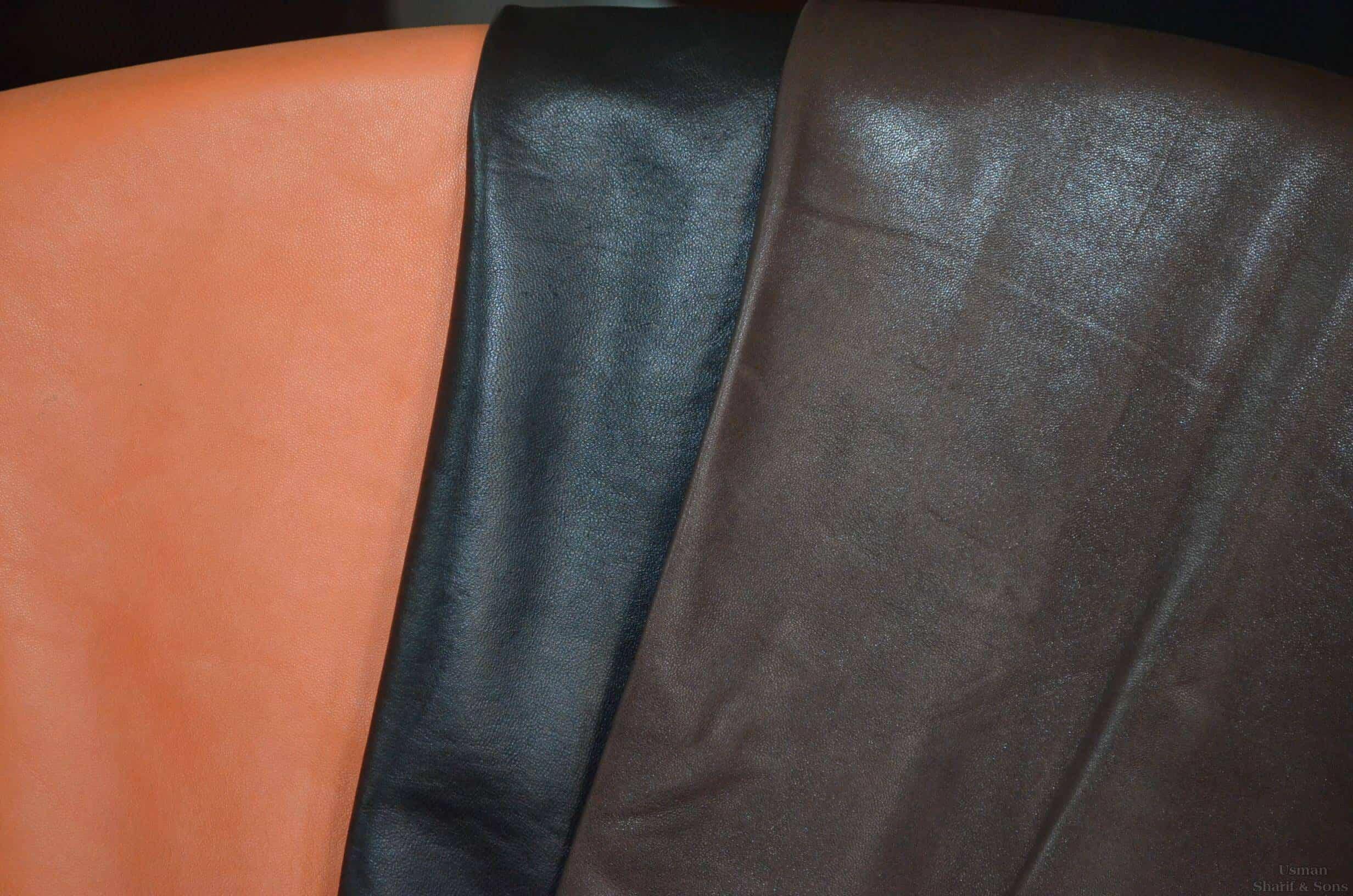 bahan jaket kulit jenis Nappa