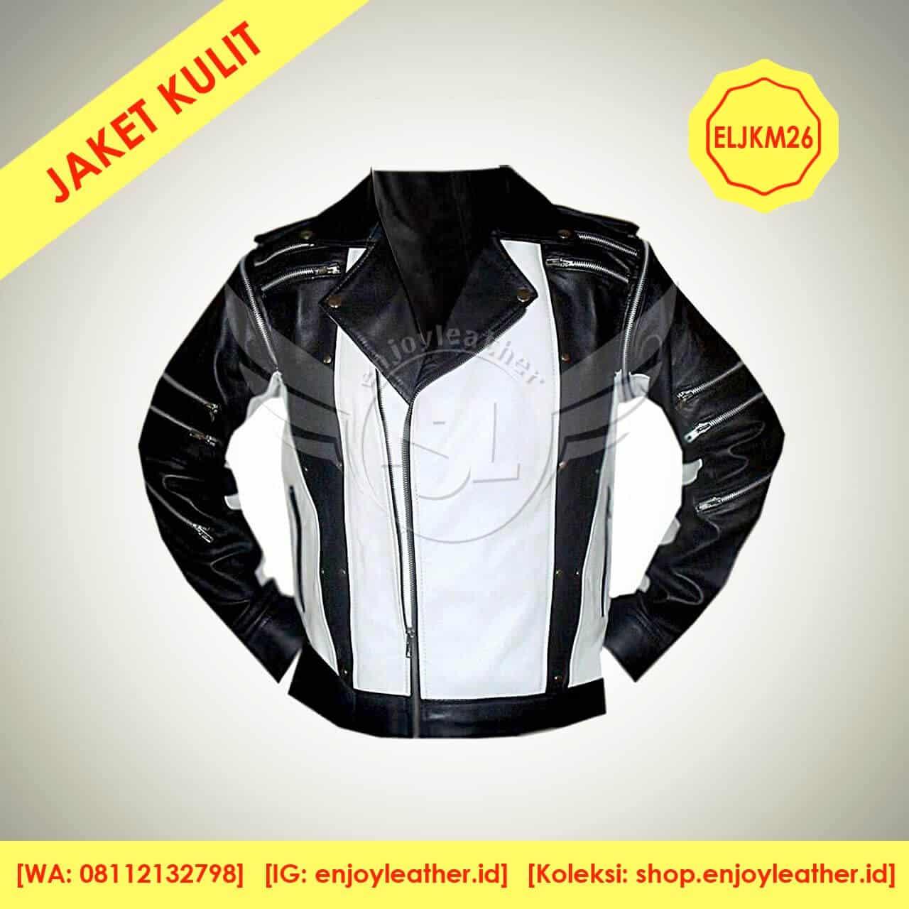 Jaket Kulit Motor Model Terbaru Enjoy Leather