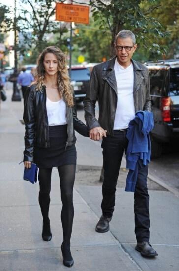 Jeff Goldblum jaket double rider klasik