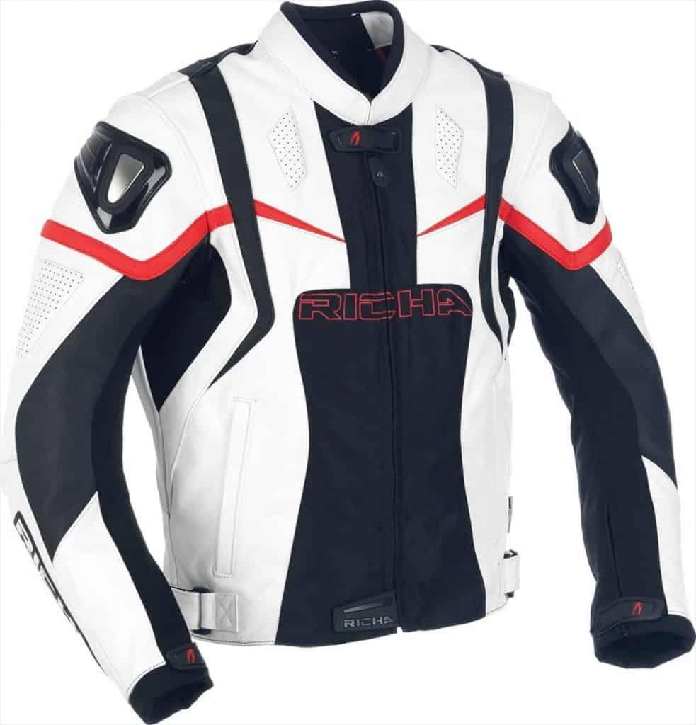 Jaket Kulit Motor Bikers Sport Balap Ninja Harley Cross Asli Garut
