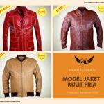 Model Jaket Kulit Wanita Terbaru 2019: Modern Vintage
