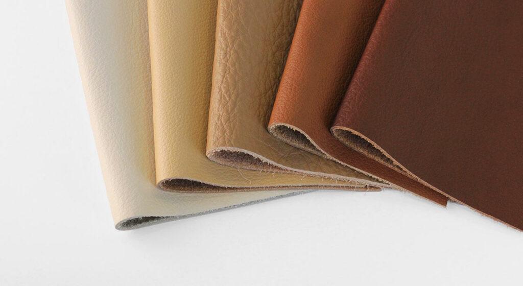 jenis bahan kulit berwarna atau pigmented Leather