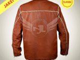 jaket kulit sulam belakang buatan Enjoy Leather Garut